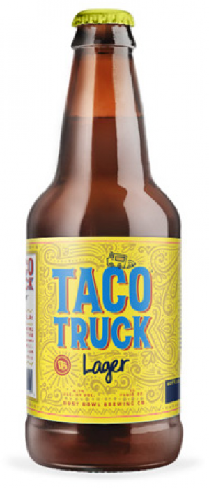 Taco Truck Lager by Dust Bowl Brewing in California, United States