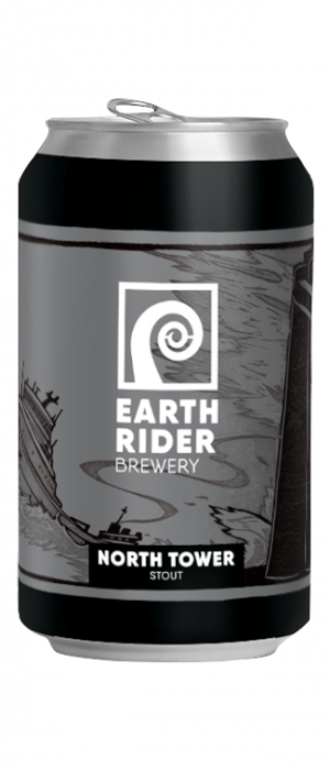North Tower Stout by Earth Rider Brewery in Wisconsin, United States
