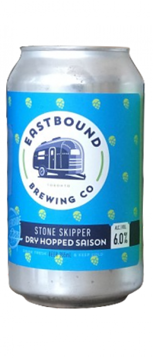 Stone Skipper by Eastbound Brewing Company in Ontario, Canada