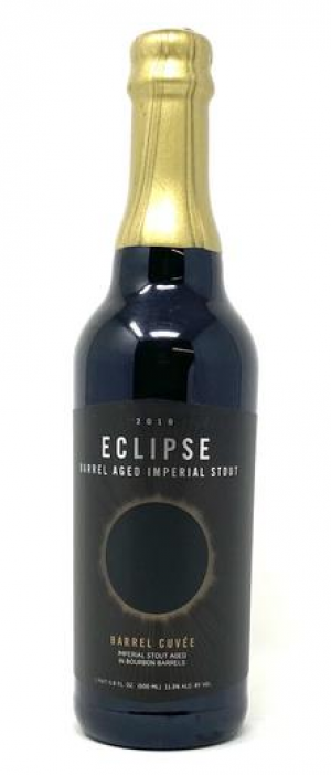 Eclipse Barrel Aged Imperial Stout 2019: Barrel Cuvée by FiftyFifty Brewing Company in California, United States