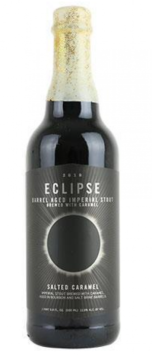 Eclipse Barrel Aged Imperial Stout 2019: Salted Caramel by FiftyFifty Brewing Company in California, United States