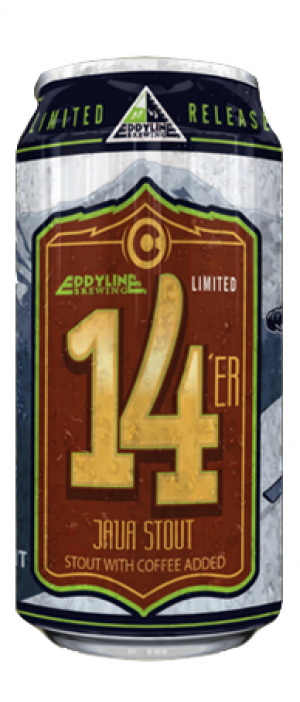 14'er Java Stout by Eddyline Brewery in Colorado, United States