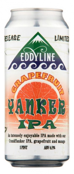 Grapefruit Yanker IPA by Eddyline Brewery in Colorado, United States