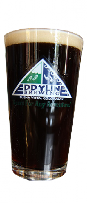 Mt. Belford Brown Ale by Eddyline Brewery in Colorado, United States