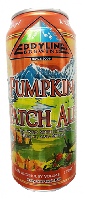 Pumpkin Patch Ale by Eddyline Brewery in Colorado, United States