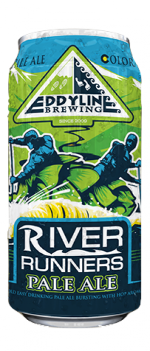 River Runners Pale Ale by Eddyline Brewery in Colorado, United States