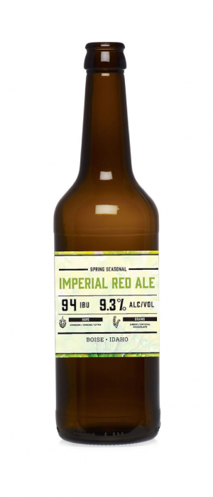 Imperial Red Ale by Edge Brewing Company in Idaho, United States
