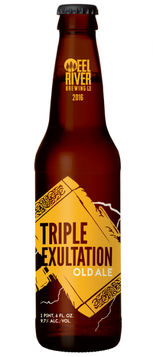 Triple Exultation by Eel River Brewing Co. in California, United States
