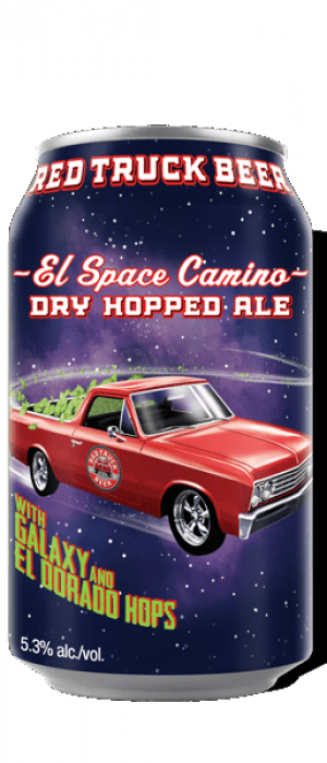 El Space Camino Dry Hopped Ale by Red Truck Beer Company in British Columbia, Canada