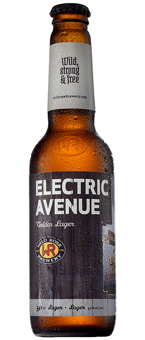 Electric Avenue by Wild Rose Brewery in Alberta, Canada