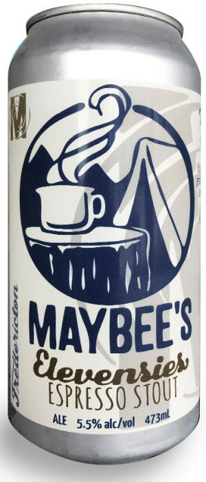 Elevensies Espresso Stout by Maybee Brew Co. in New Brunswick, Canada