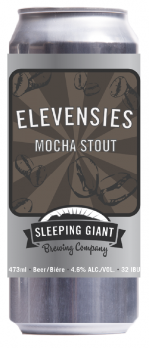 Elevensies Mocha Stout by Sleeping Giant Brewing Company in Ontario, Canada