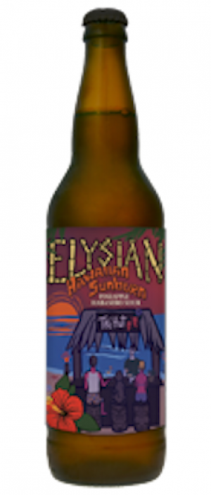 Hawaiian Sunburn by Elysian Brewing Company in Washington, United States