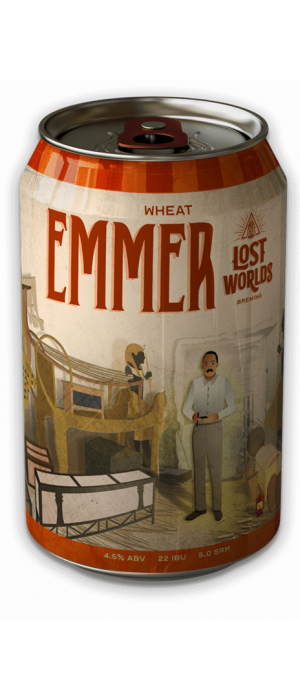 Emmer by Lost Worlds Brewing in North Carolina, United States
