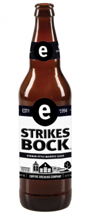 Strikes Bock by Empire Brewing Company in New York, United States