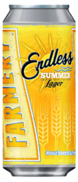 Endless Summer Lager by Farmery Estate Brewery in Manitoba, Canada