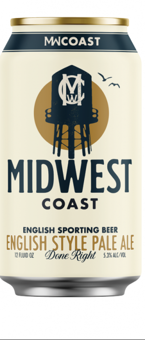 English Sporting Beer by Midwest Coast Brewing Co. in Illinois, United States