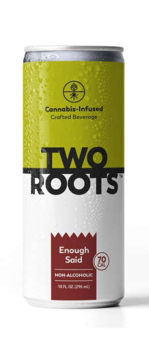 Enough Said THC-Infused Beer by Two Roots Brewing in California, United States