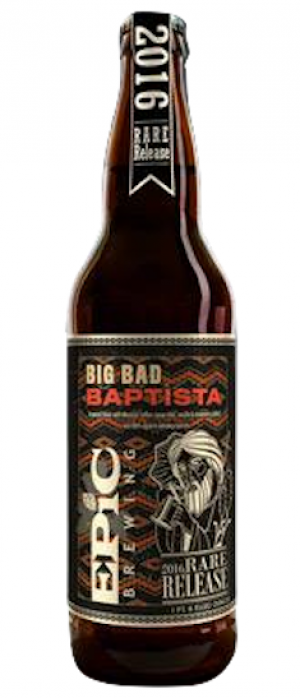Big Bad Baptista by Epic Brewing Company in Utah, United States
