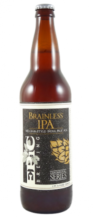 Brainless IPA by Epic Brewing Company in Utah, United States