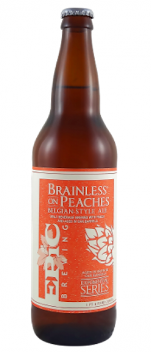 Brainless On Peaches by Epic Brewing Company in Utah, United States