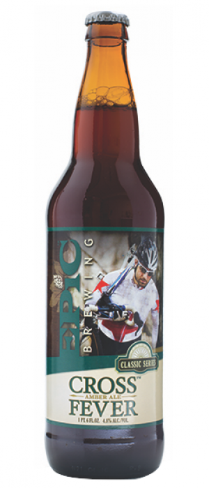Cross Fever Amber Ale by Epic Brewing Company in Utah, United States