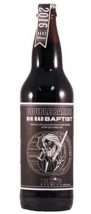 Double Barrel Big Bad Baptist by Epic Brewing Company in Utah, United States