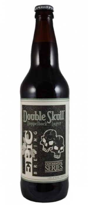 Double Skull Doppelbock Lager by Epic Brewing Company in Utah, United States