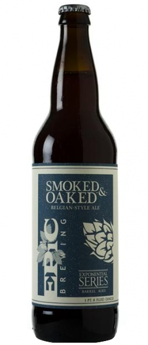 Smoked and Oaked by Epic Brewing Company in Utah, United States