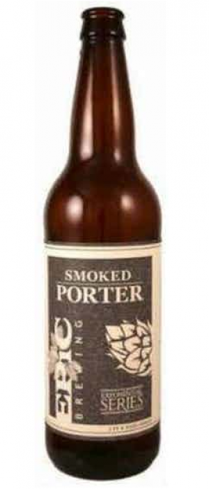 Smoked Porter by Epic Brewing Company in Utah, United States