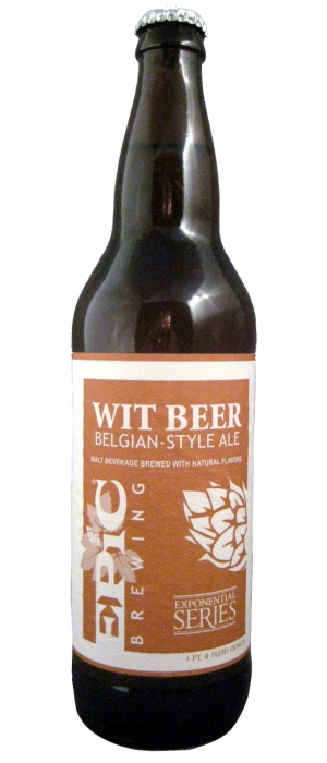 Wit Beer by Epic Brewing Company in Utah, United States