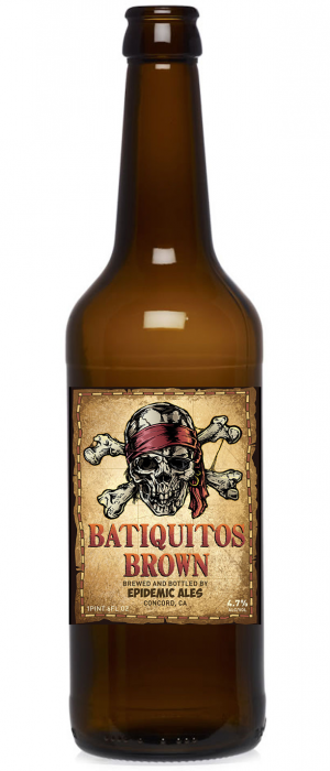 Batiquitos Brown by Epidemic Ales in California, United States