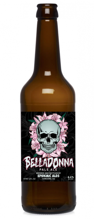 Belladonna Pale Ale by Epidemic Ales in California, United States