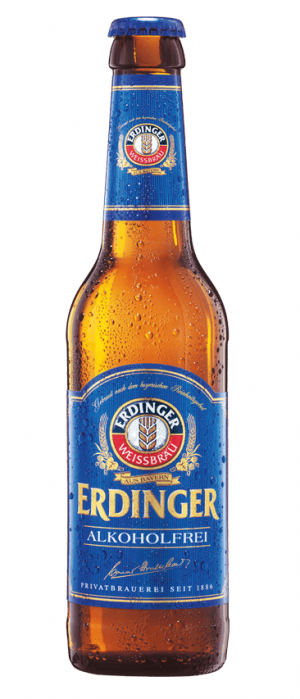 Alkoholfrei by Erdinger Weissbrau in Bavaria, Germany