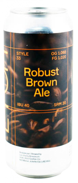 Robust Brown Ale by EtOH Brasserie in Québec, Canada