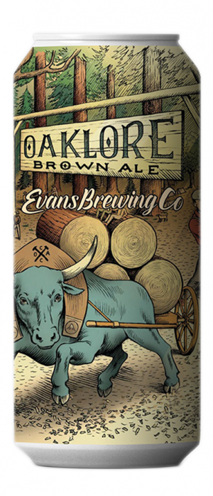 Oaklore Brown Ale by Evans Brewing Company in California, United States