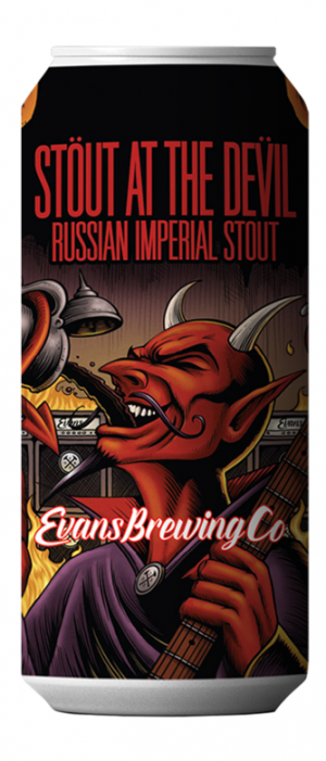 Stout At The Devil Russian Imperial Stout by Evans Brewing Company in California, United States