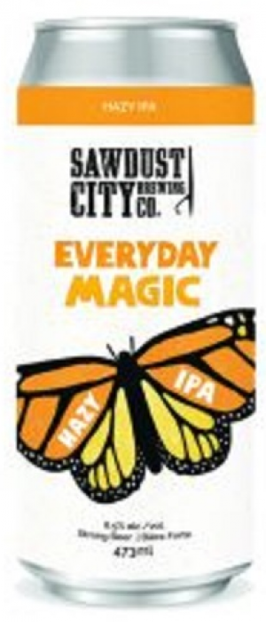 Everyday Magic by Sawdust City Brewing Company in Ontario, Canada