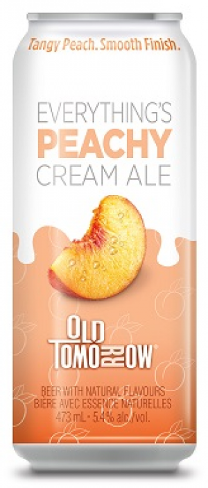 Everything's Peach Cream Ale by Old Tomorrow in Ontario, Canada