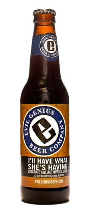 I'll Have What She's Having by Evil Genius Beer Company in Pennsylvania, United States