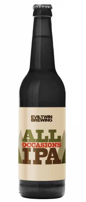All Occasions IPA by Evil Twin Brewing in New York, United States