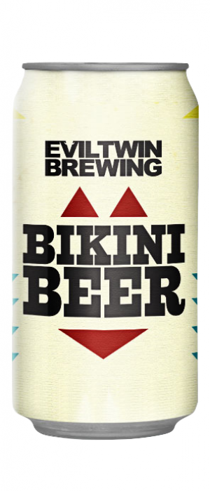 Bikini Beer by Evil Twin Brewing in New York, United States