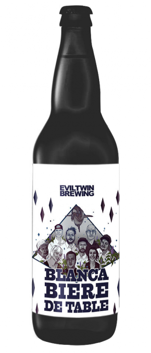 Blanca Biere De Table by Evil Twin Brewing in New York, United States