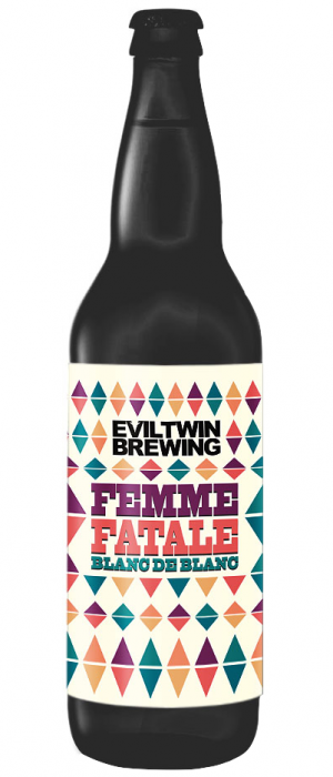 Femme Fatale Blanc De Blanc by Evil Twin Brewing in New York, United States