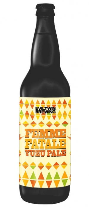 Femme Fatale Yuzu Pale by Evil Twin Brewing in New York, United States
