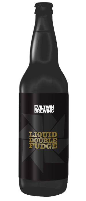 Liquid Double Fudge by Evil Twin Brewing in New York, United States