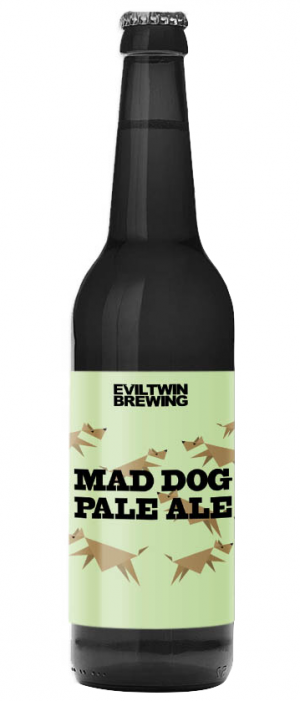 Mad Dog Pale Ale by Evil Twin Brewing in New York, United States