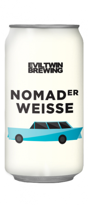 Nomader Weisse by Evil Twin Brewing in New York, United States