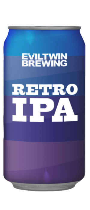 Retro IPA by Evil Twin Brewing in New York, United States