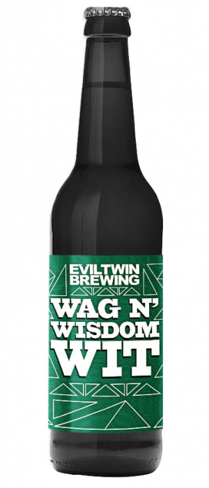 Wag N' Wisdom Wit by Evil Twin Brewing in New York, United States